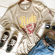 RIDE INTO THE SUNSET - SAND TEE