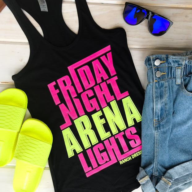 FRIDAY NIGHT ARENA LIGHTS - BLACK TANK