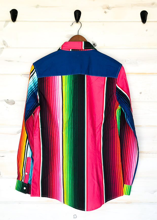 SERAPE RODEO SHIRT (ADULT)