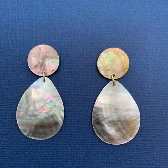 Irene Mother of Pearl Earrings