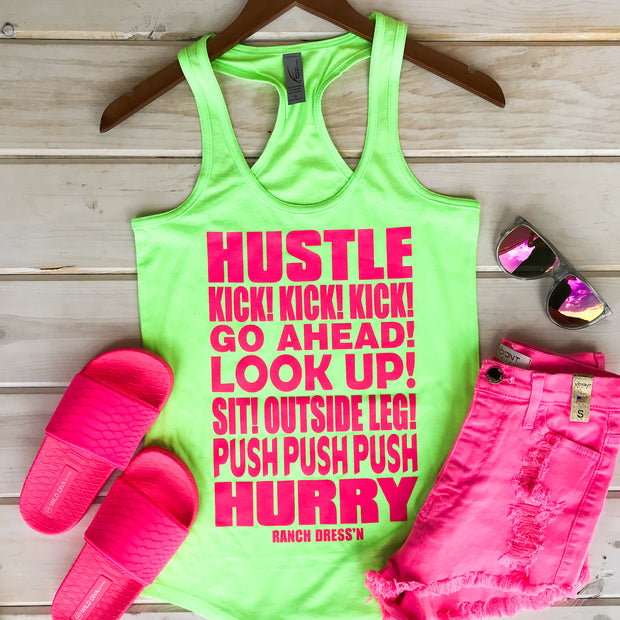 HUSTLE KICK - LIME TANK