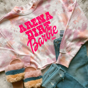 ARENA DIRT BARBIE SHERBET CROPPED PULLOVER