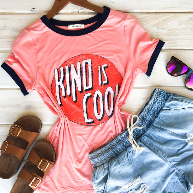 KINDNESS IS COOL - ORANGE TEE
