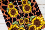 SUNFLOWER LEOPARD BOOTCUT JEANS (ADULT)