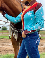 RETRO PERFORMANCE RODEO SHIRT (ADULT)