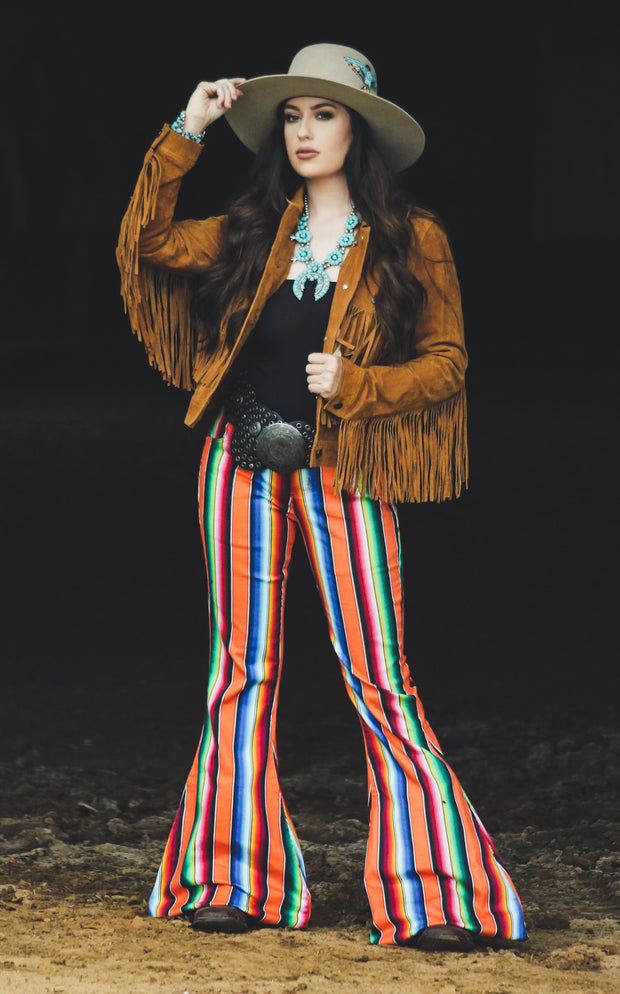 ORANGE SERAPE SUPER FLARES