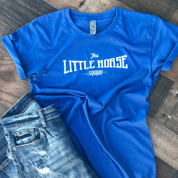 LITTLE HORSE SQUAD - BLUE TEE
