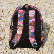 RD STICKER PRINT BACKPACK