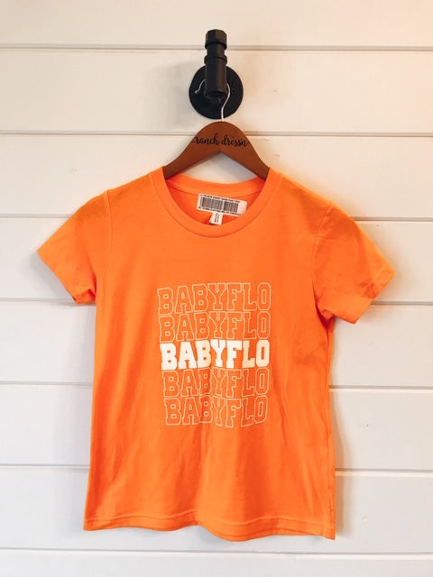 BABYFLO YOUTH ORANGE CREAMSICLE TEE