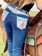 HOME ON THE RANGE DENIM BOOTCUT JEANS