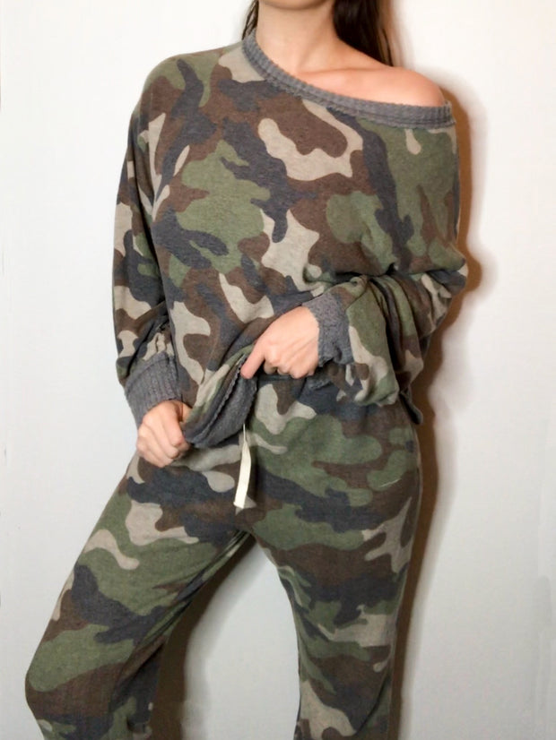CAMO SOFT LOUNGE SET