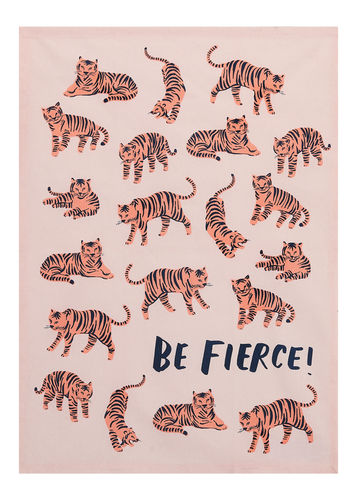 BE FIERCE KITCHEN TOWEL