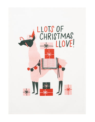 LOTS OF CHRISTMAS LOVE KITCHEN TOWEL