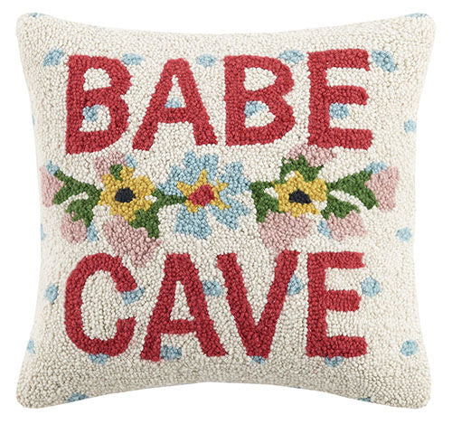 "BABE CAVE 16X16"" PILLOW"