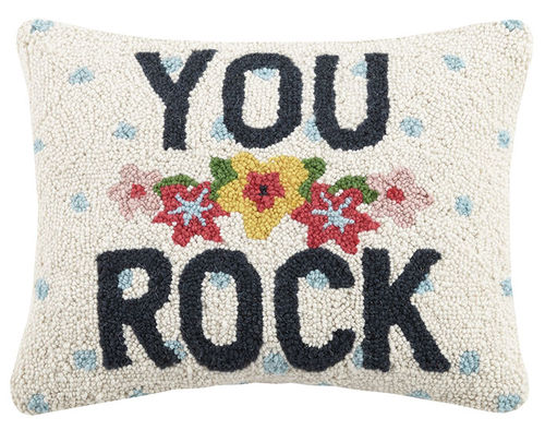 "YOU ROCK 12X16"" PILLOW"