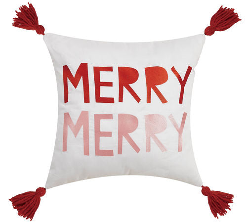 MERRY MERRY 16X16 PILLOW