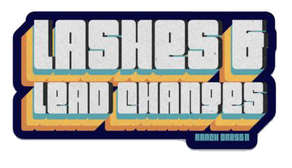 LASHES AND LEAD CHANGES STICKER