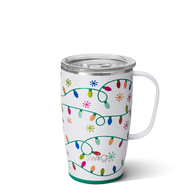 LET IT GLOW TRAVEL MUG (18OZ)