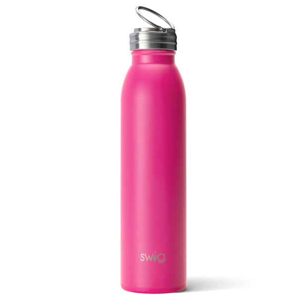 MATTE HOT PINK 20OZ BOTTLE