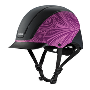 SPIRIT PURPLE BOHO HELMET
