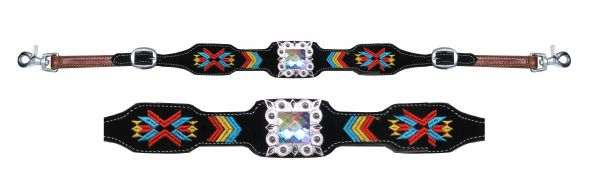AZTEC EMBROIDERED WITHER STRAPS