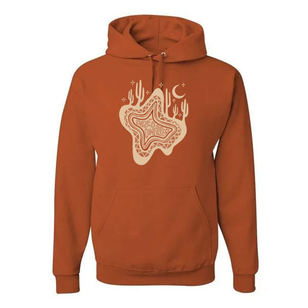 DAZED AND CONFUSED - RUST HOODIE