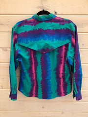 G-8 Striped Design Vintage Rodeo Shirt Size 11/12
