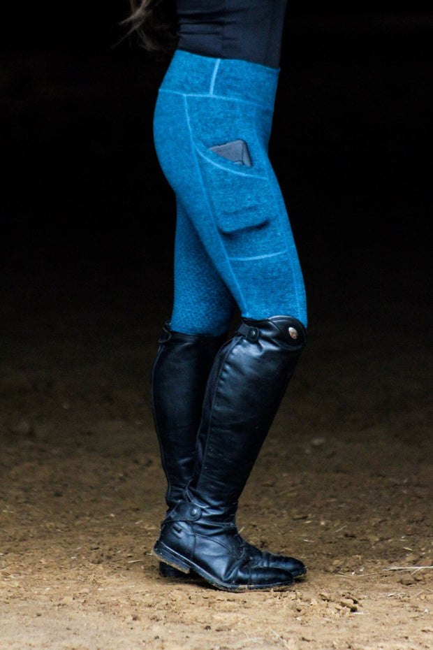 TEAL SCHOOLING LEGGINGS