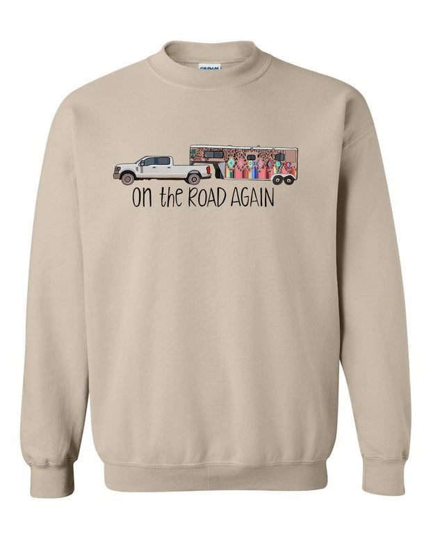 ON THE ROAD AGAIN - OATMEAL PULLOVER