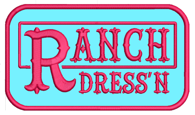 RANCH DRESS'N PATCHES