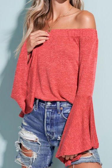 RUBY  BELL SLEEVE SWEATER