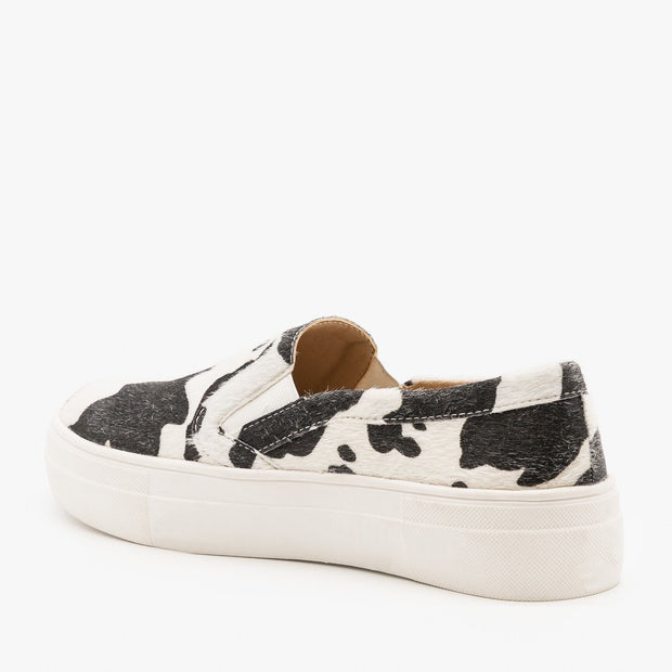 DOLLY COWHIDE SNEAKERS
