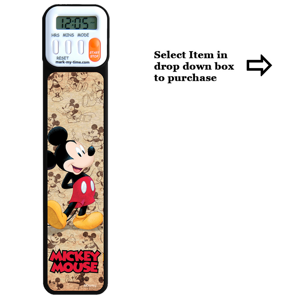 3D Disney Mickey and Friends Bookmarks and Booklights