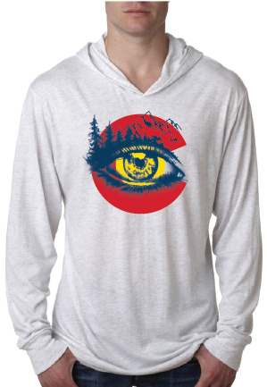 Eye on Colorado- Unisex Hooded Tee