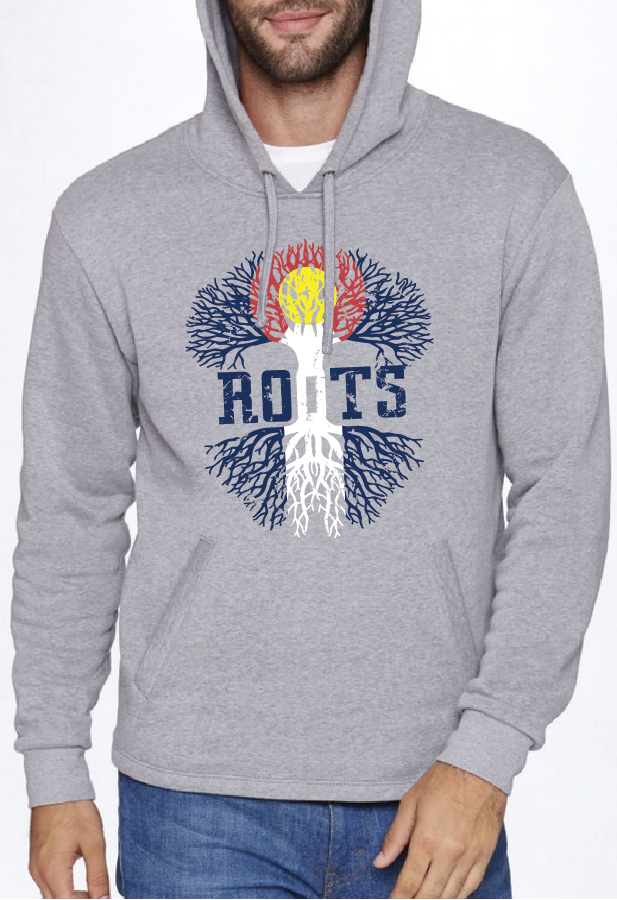 Roots Unisex PullOver Hoodie