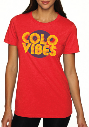 ColoVibes- Women's Red