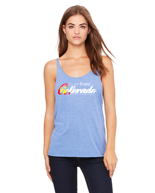 Enjoy Colorado- Ladies Slouchy Tank