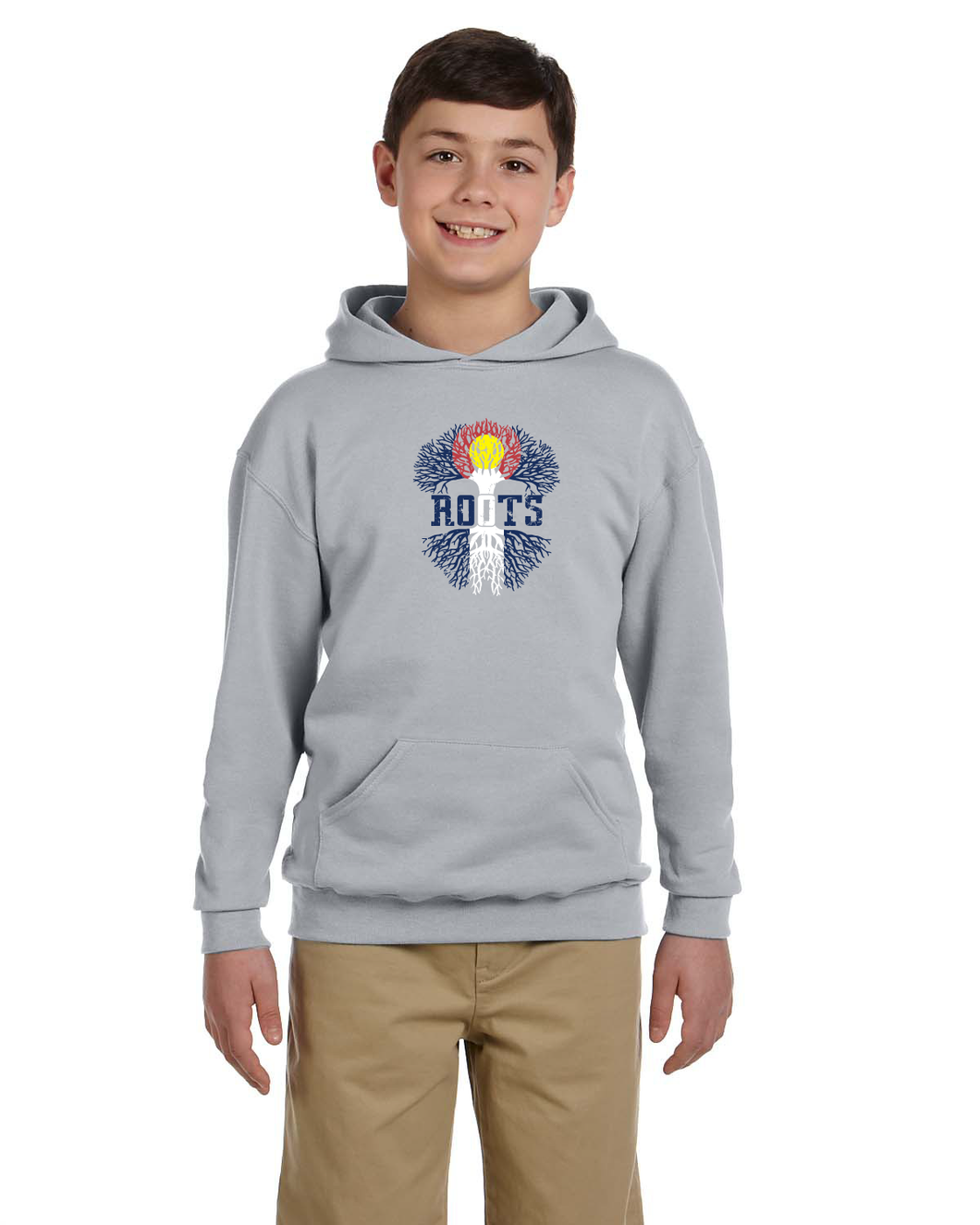 Roots Youth PullOver Hoodie