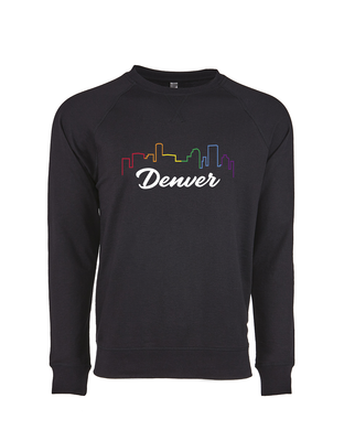 Denver Skyline- Crew Sweatshirt