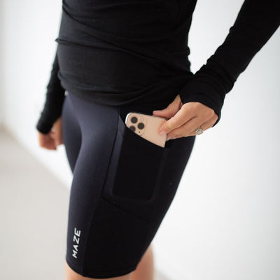 Maternity & Postpartum Bike Shorts