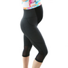 3/4 Pregnancy Maternity Tights - Charcoal
