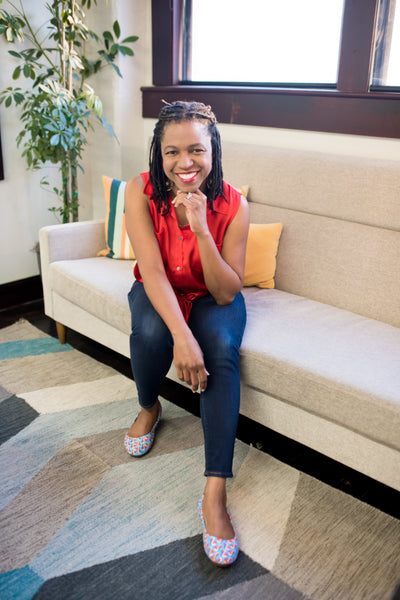Take a walk in her Thando's - Stacy Brown Philpot (CEO of Task Rabbit)
