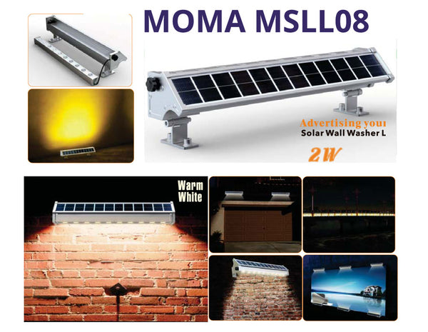 Advertising Hoarding - Solar Wall Washer LEDE Lighting 2W or 4W