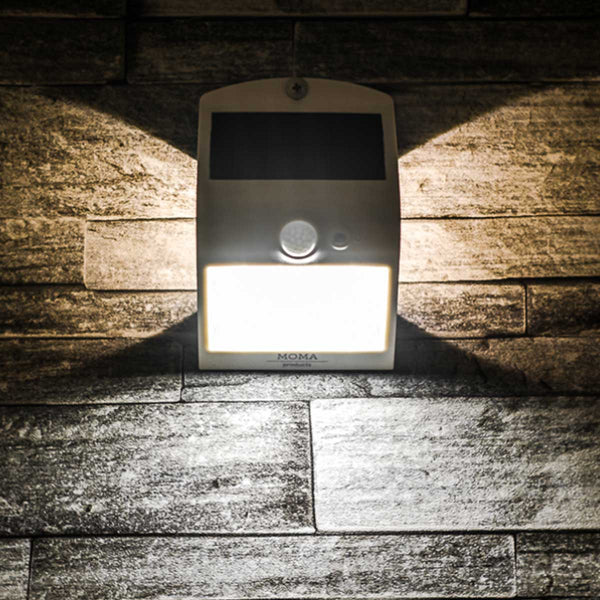 White 1.5 Watt Solar LED Motion Sensor Security Light MP15SLEDW