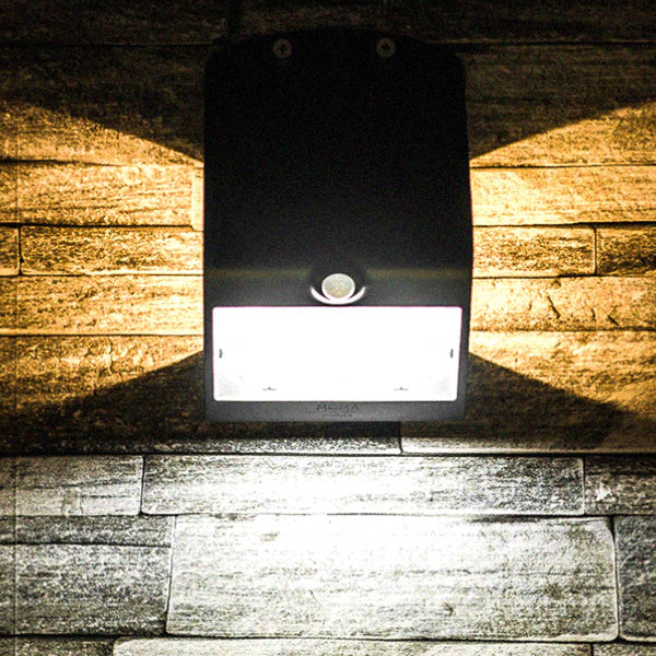 Black 3.2 Watt Solar LED Motion Sensor Security Light MP32SLEDB