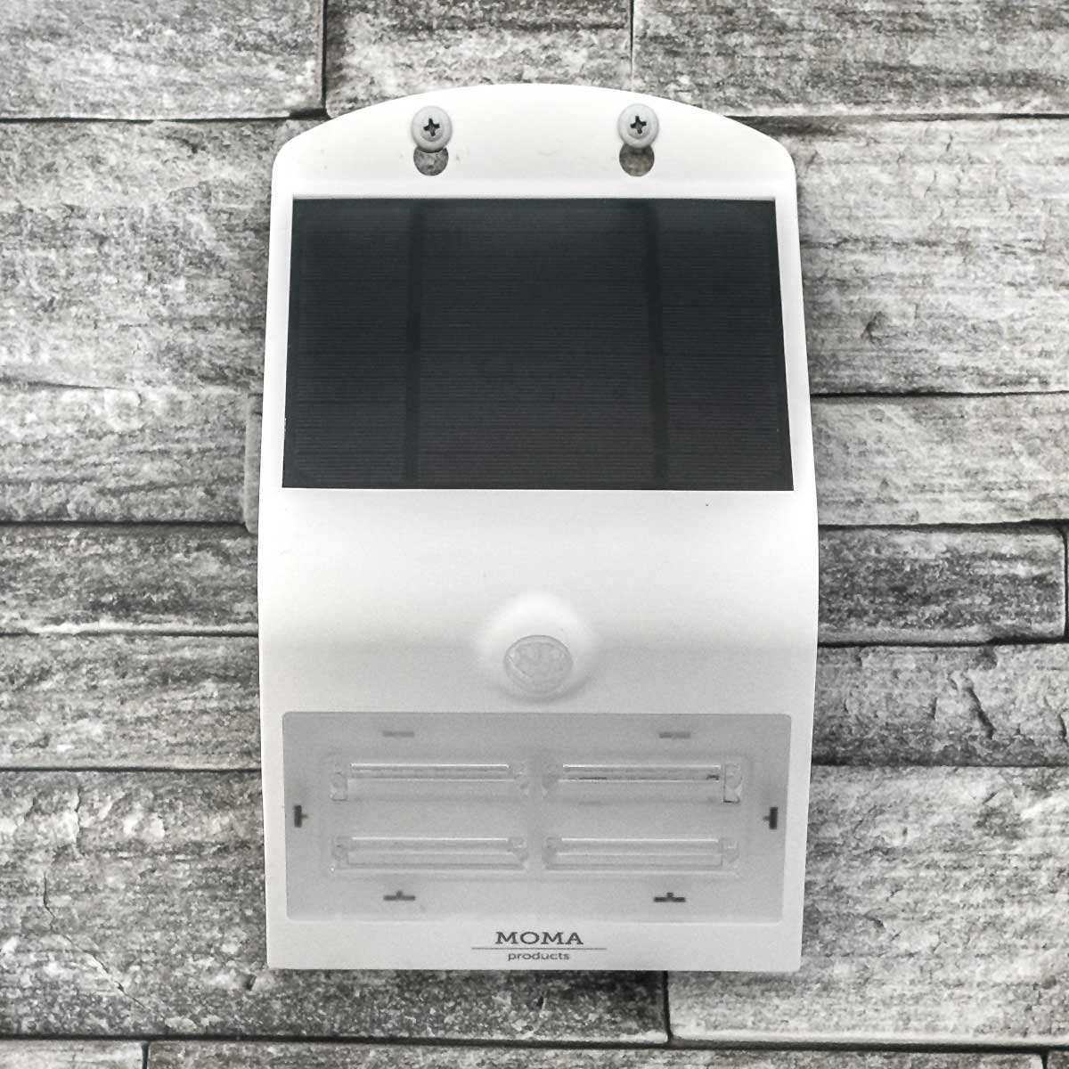White 3.2 Watt Solar LED Motion Sensor Security Light MP32SLEDW