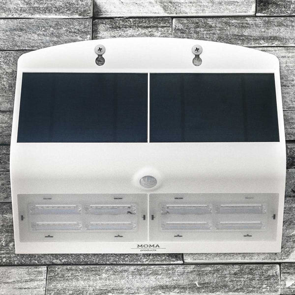 White 6.8 Watt Solar LED Motion Sensor Security Light