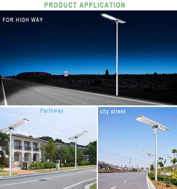 MOSL-80W Moma Solar Street Light