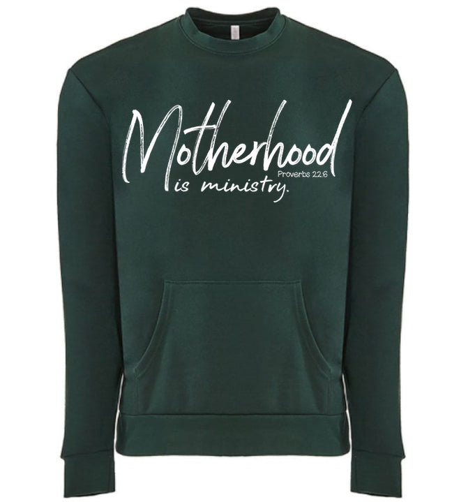 Motherhood Pocket Sweater