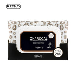 Absolute New York Charcoal Cleansing Tissues